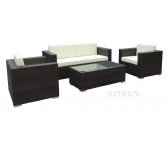 Siena Outdoor Wicker Lounge Set